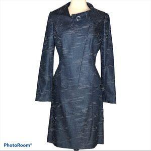 Atelier Blue Ladies 2 Piece Suit Sz 8
